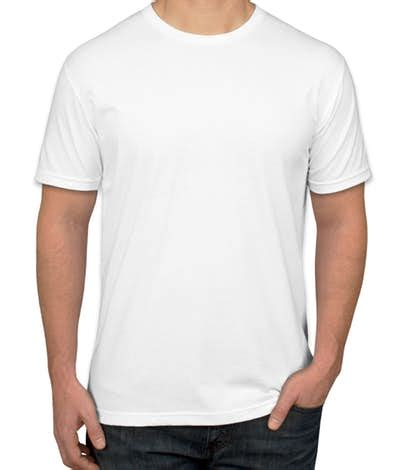 Kaos Top White Blouse Putih custom next level 60 40 t shirt design sleeve t shirts at customink