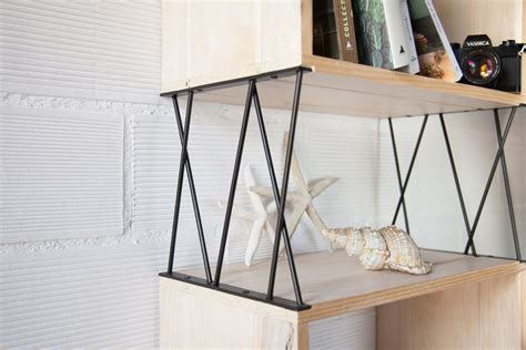Shelf With Legs by 193 Bacus Shelf Metal Legs Ecodeco Mobiliario