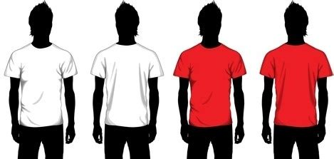 Tshirt Kaos Element vector t shirt template svg free vector 99 875