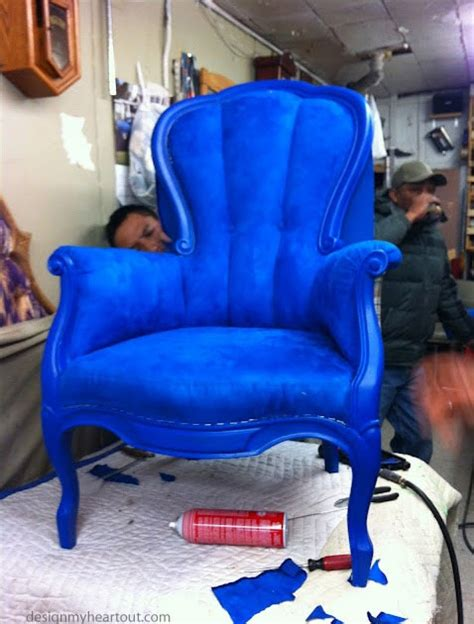 Cobalt Blue Chair by Design Out What I Right Now This Cobalt