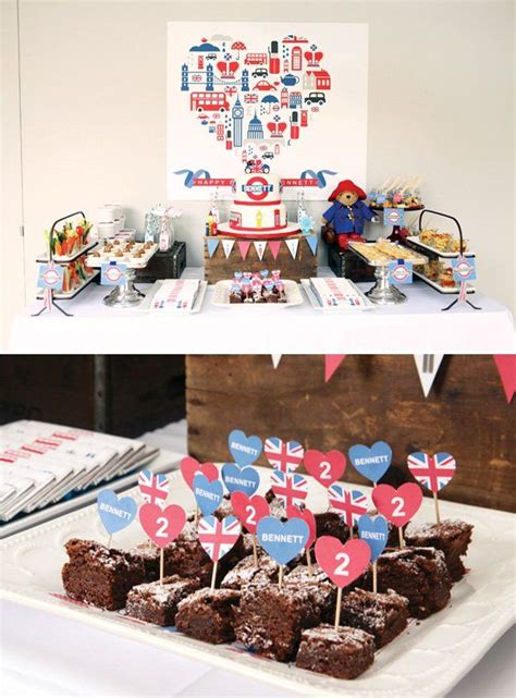 themed parties london 21 best london themed birthday party images on pinterest