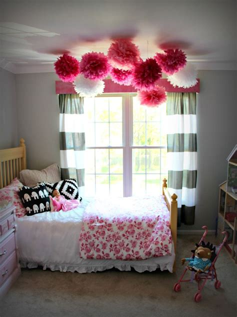 Pom Pom Curtain Panels Inspiration 145 Best Pom Poms Deco Inspiration Images On Pinterest Decorations Birthdays And