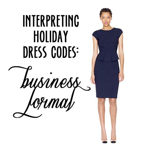 interpreting holiday party dress codes business formal