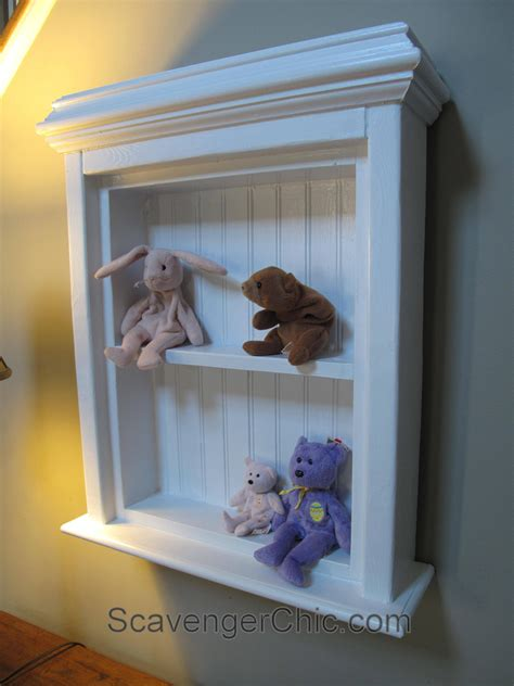 Create a Medicine Cabinet from a Mirror diy ? Scavenger Chic