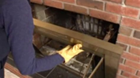 Remove Fireplace Doors by Fireplace Makeover Planitdiy