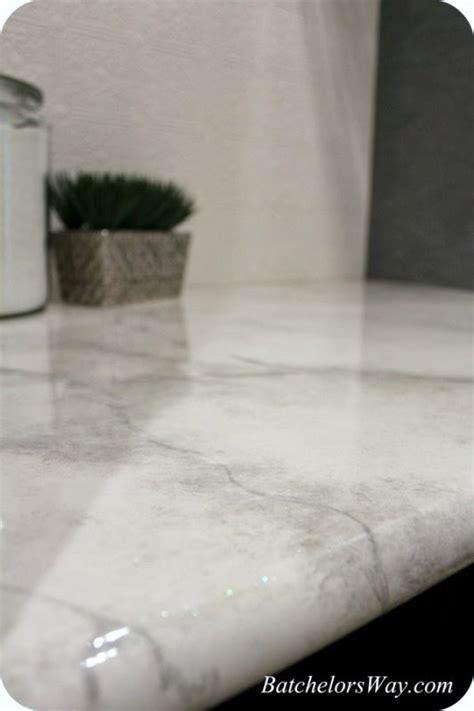 faux marble countertop paint remodelaholic 30 diy faux marble countertops