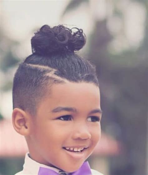 hair cut for little boy with wavy hair 50 inspirational man bun hairstyle choices