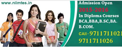 Mba Diploma Courses In Delhi by Niimtes Distance Mba Certification Degrees Course In