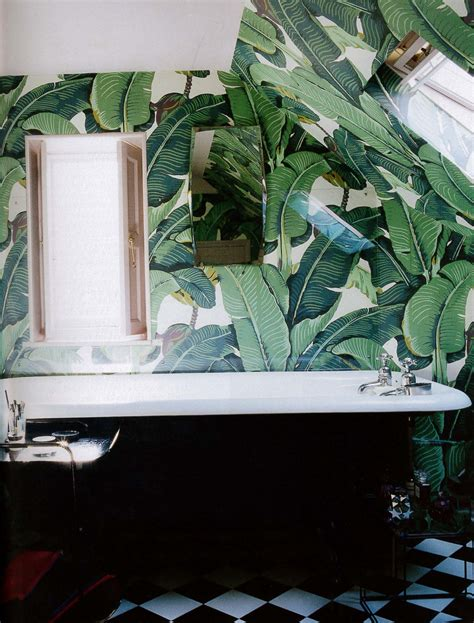 banana leaf wallpaper beverly hills hotel martinique banana leaf on pinterest banana leaves