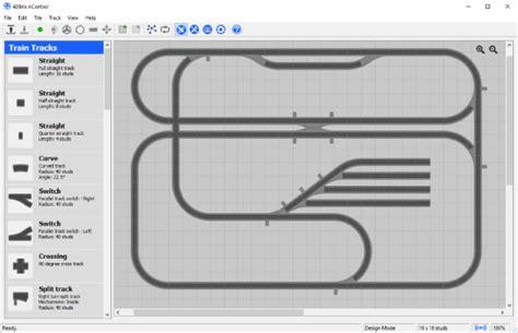 tamiya track layout software 4dbrix train