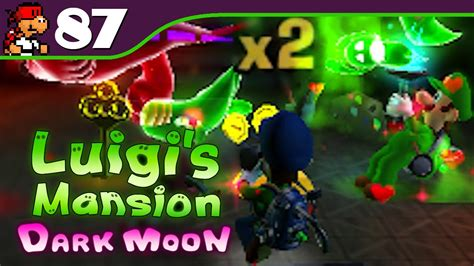 Kaset Luigi S Mansion Moon 3ds luigi s mansion moon scarescraper suprise mode 87 nintendo 3ds gameplay walkthrough