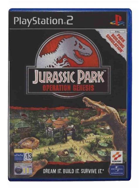 buy jurassic park operation genesis buy jurassic park operation genesis playstation 2 australia
