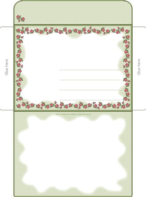 printable envelope borders 602 best snail mail images on pinterest article writing