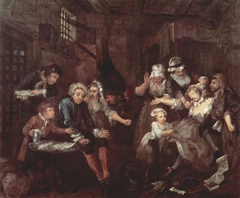 8 Paintings By Hogarth by A Rake S Progress Artble