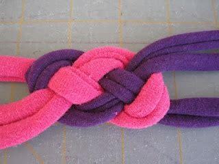 diy jersey knit headband knotted jersey headband tutorial celtic knot