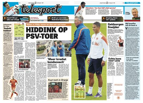de telegraaf it s a new tabloid look where legacy