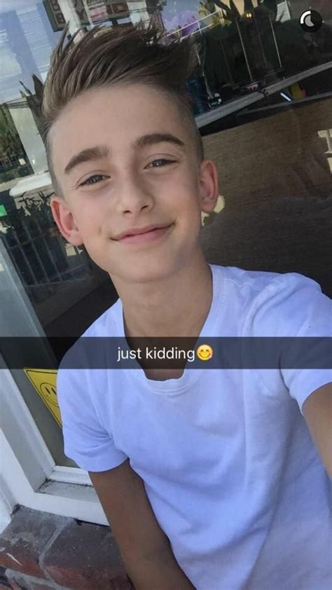johnny orlando on haircuts new haircuts and snapchat