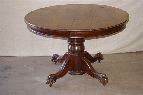antique round table with claw antique oak dining table with claw feet best 2000
