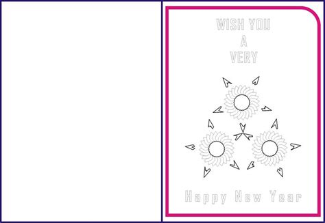 new year greetings card for kids 10