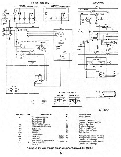 wiring diagram for onan 5500 generator wiring free