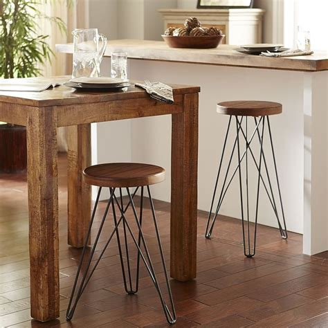 Hairpin Leg Counter Stool by Our Modern Industrial Erie Stools With Their Hairpin Legs