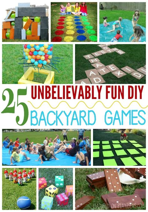 diy backyard fun 25 unbelievably fun diy backyard games for kids page 26