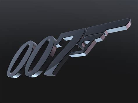 Wallborder B 007 3d 007 logo 10 wallpaper by scottmu on deviantart