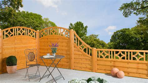 Gartentor Mit Holzfüllung by Beste Blickdichter Zaun Konzept Terrasse Design Ideen