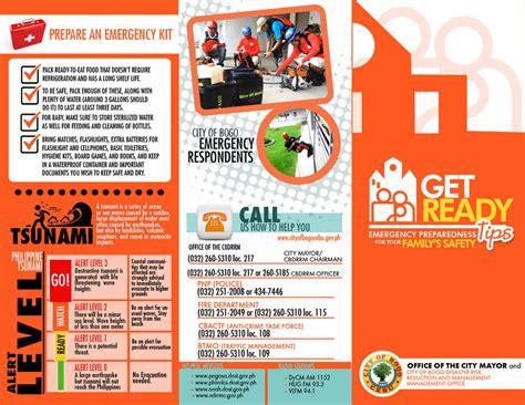 Disaster Management Brochure 2 By Jhazzteenhale On Deviantart Emergency Preparedness Brochure Template