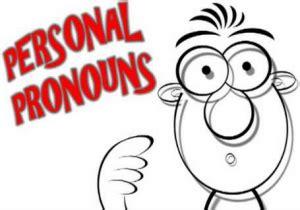 pengertian bentuk fungsi personal pronoun beserta contoh  kalimat