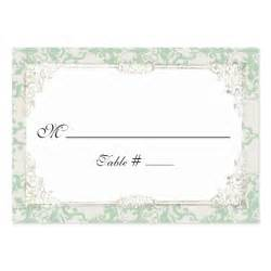 wedding reception place cards cottage chic wedding reception place card business card