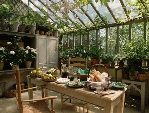 Kitchen With Garden by Moon To Moon Green House Garden Room Dining
