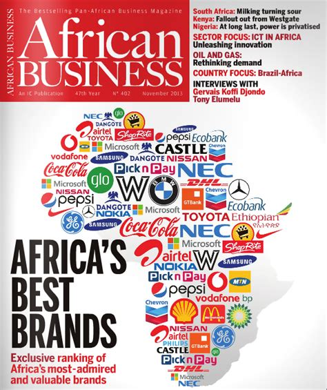 wanabidii business magazine releases its survey of africa s most valuable brands