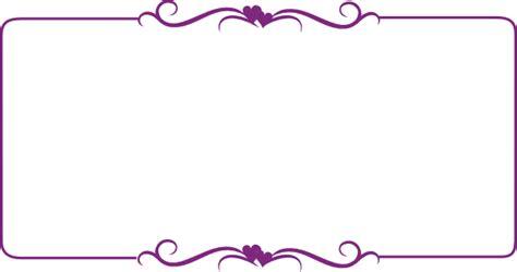Bordir Purple purple decorative border clip at clker vector clip royalty free