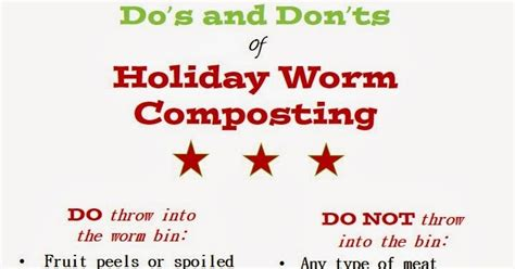 the do s and don ts of christmas tree decorating telegraph lilliworm organic endeavors holiday worm composting do s