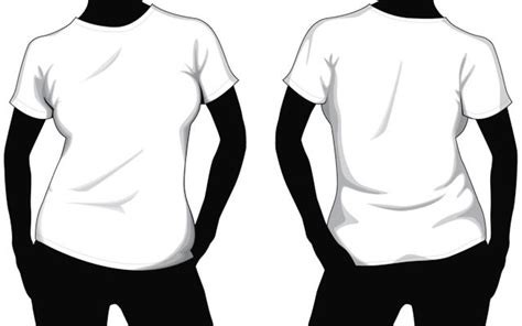Collection Of Blank T Shirt Mockup Templates T Shirt Template Photoshop