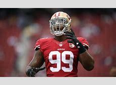 49ers DeForest Buckner in walking boot, crutches after ... Redskins Cowboys