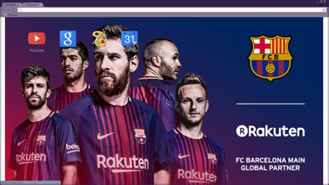 themes google chrome barcelona fc barcelona rakuten chrome theme themebeta