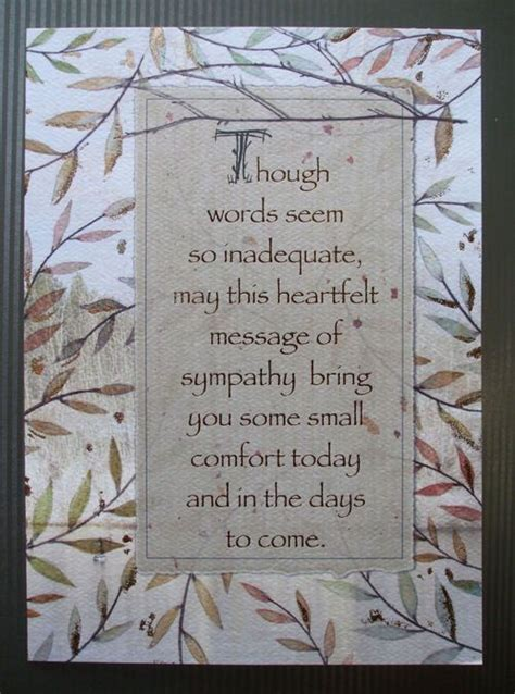 Thinking Of You Verses For Handmade Cards - best 25 sympathy cards ideas on simple