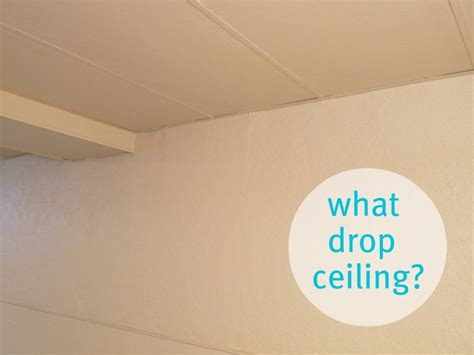 Painted Drop Ceiling Basement Update How To Paint Drop Ceilings You Cannot
