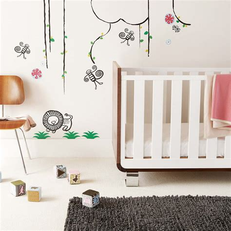 cool bedroom wall stickers  kids interior design