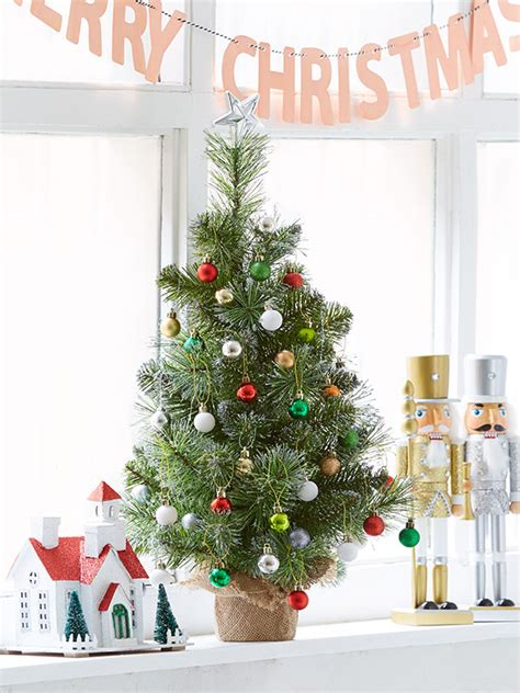 kmart christmas trees 3 top tips to decorate small spaces this kmart