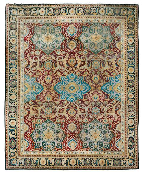 tappeto indiano tappeto indiano agra seconda met 224 xix secolo tappeti