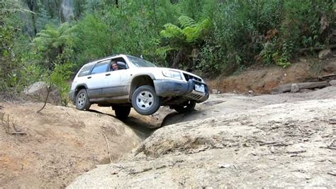 off road subaru forester subaru forester off road bunyip rock climb part 3 of 3