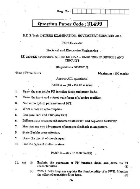 ee electronic devices  circuits nov dec