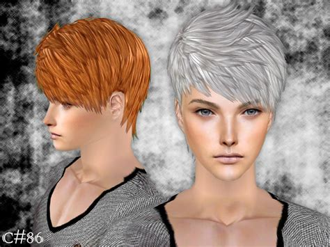 download hair male the sims 2 cazy s demonic hairstyle set