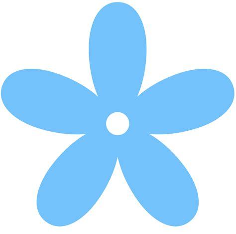 blue clip blue flowers clip cliparts co