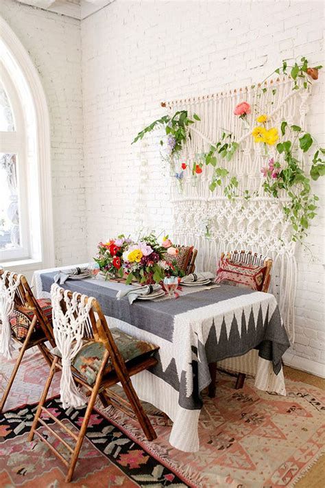 Bohemian Dining Room by 18 Eclectic Dining Rooms With Boho Style