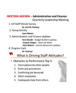 school staff meeting agenda template 9 staff meeting agenda templates free sle exle