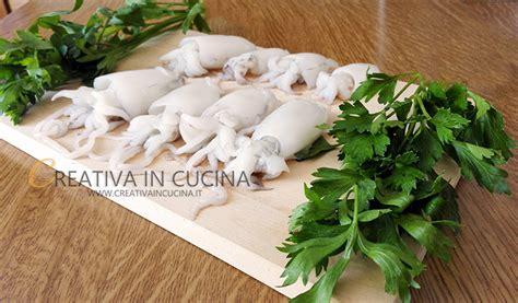 come si possono cucinare le seppie seppie crude le ricette di creativa in cucina